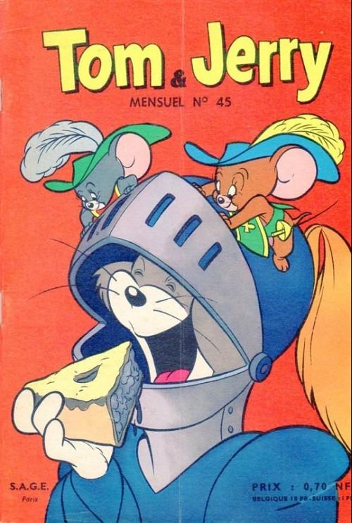 Couverture de Tom et Jerry (Puis Tom & Jerry) (2e Série - Sage) -45- Un appétit délicat !