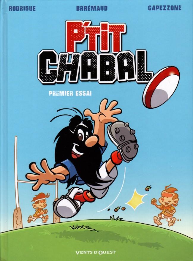 Couverture de P'tit Chabal -1- Premier essai