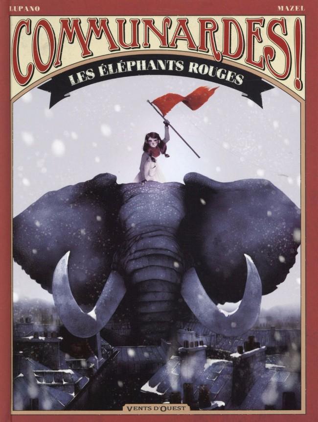 Communardes ! Elephants rouges