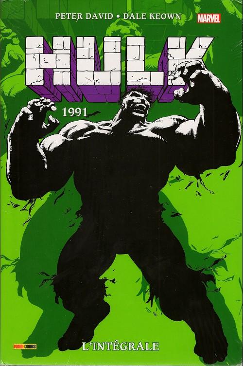 Couverture de Hulk (L'intégrale) -6- L'intégrale 1991
