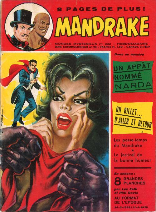 Couverture de Mandrake (1e Série - Remparts) (Mondes Mystérieux - 1) -382- Un appât nommé Narda