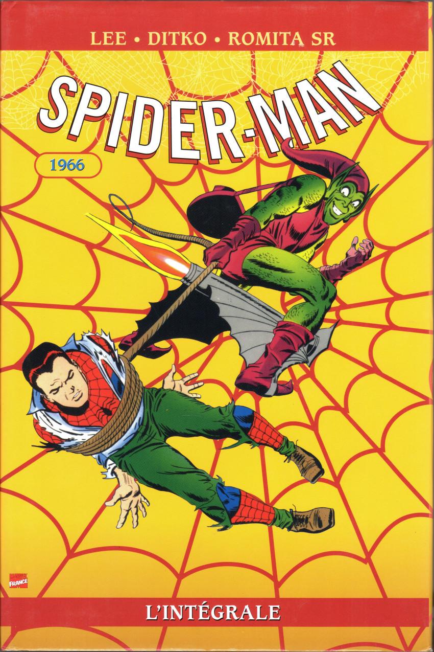 Couverture de Spider-Man (L'Intégrale) -4INT- Spider-Man : L'Intégrale 1966