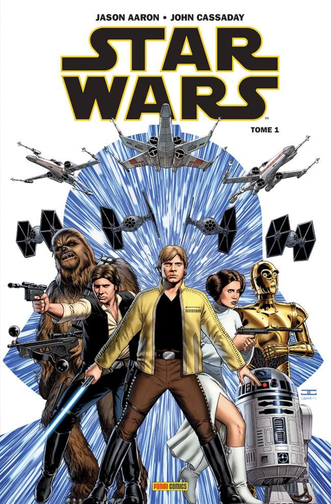 Couverture de Star Wars (Panini Comics - 100% Star Wars) -1- Skywalker passe à l'attaque