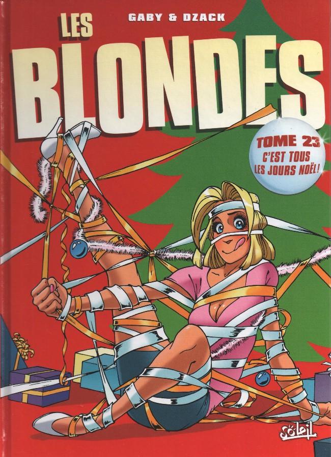 Couverture de Les blondes -23- C'est tous les jours Noël