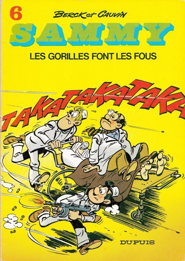 Couverture de Sammy -6- Les gorilles font les fous