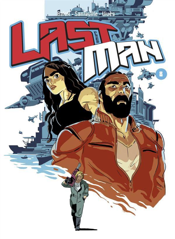 Couverture de LastMan -8- Tome 8