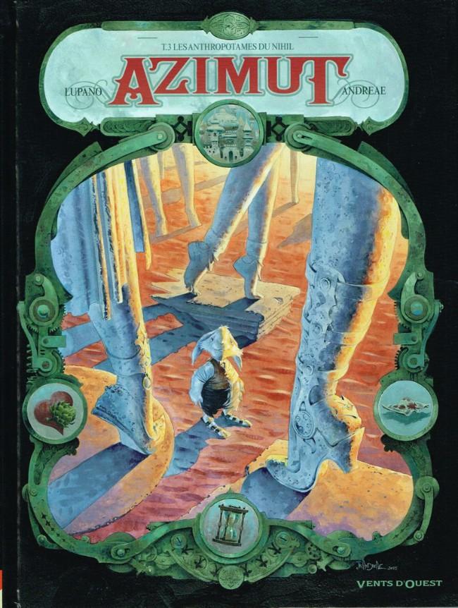 Couverture de Azimut -3- Les anthropotames du Nihil