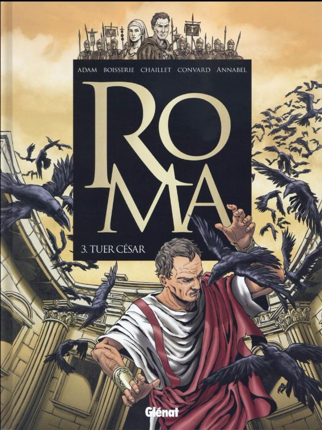 Couverture de Roma -3- Tuer César