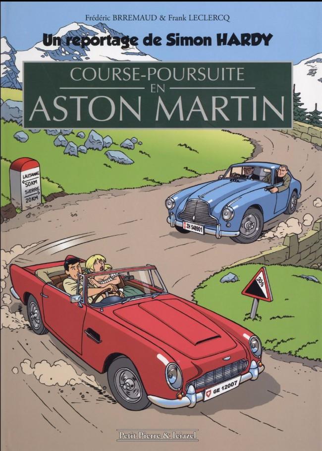 Couverture de Simon Hardy (un reportage de) - Course-poursuite en Aston Martin