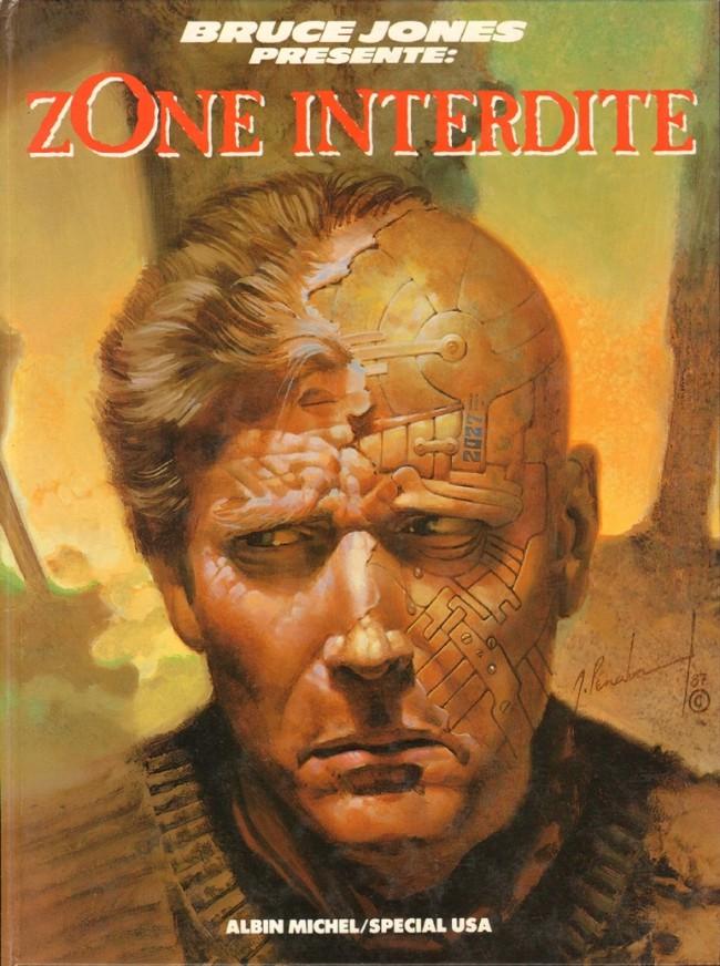 Couverture de Bruce Jones présente -3- Zone interdite