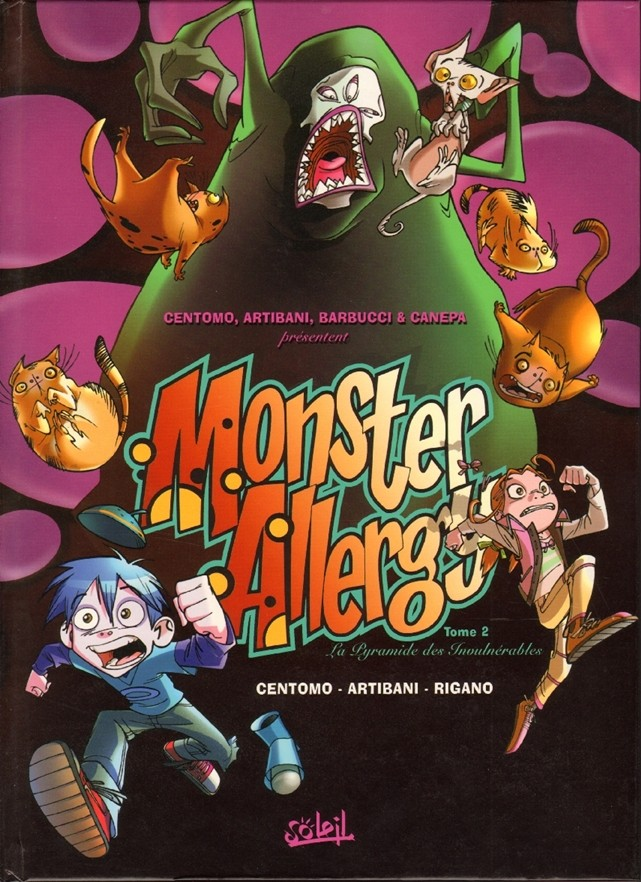 Couverture de Monster Allergy -2- La pyramide des invulnérables