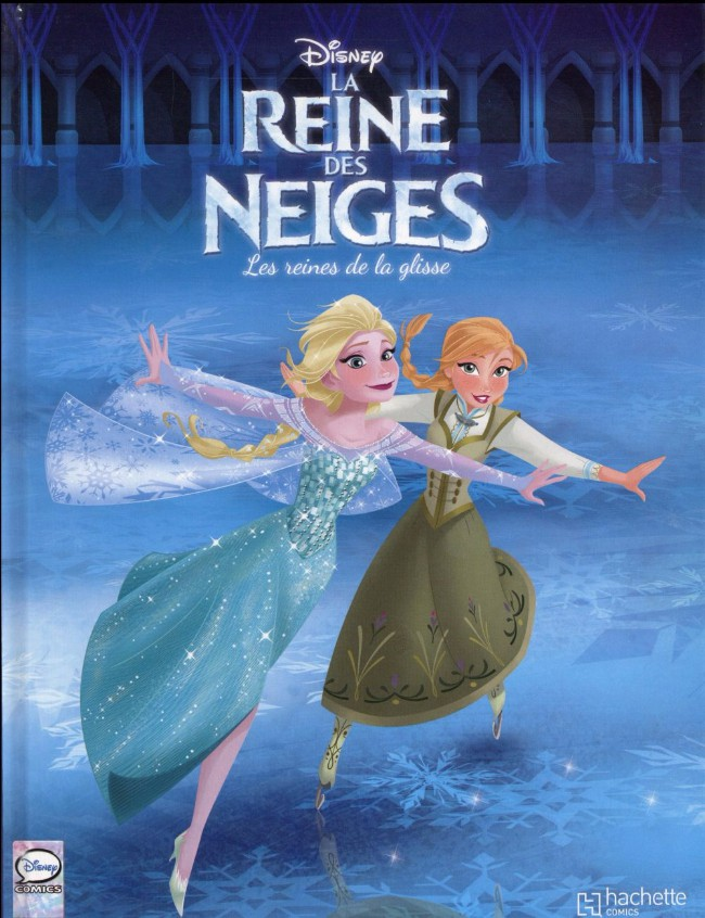 couverture de la reine des neiges 4 les reines de la glisse