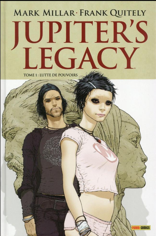 Couverture de Jupiter's Legacy -1- Lutte de pouvoirs