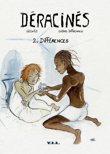 Couverture de Déracinés -2- Différences