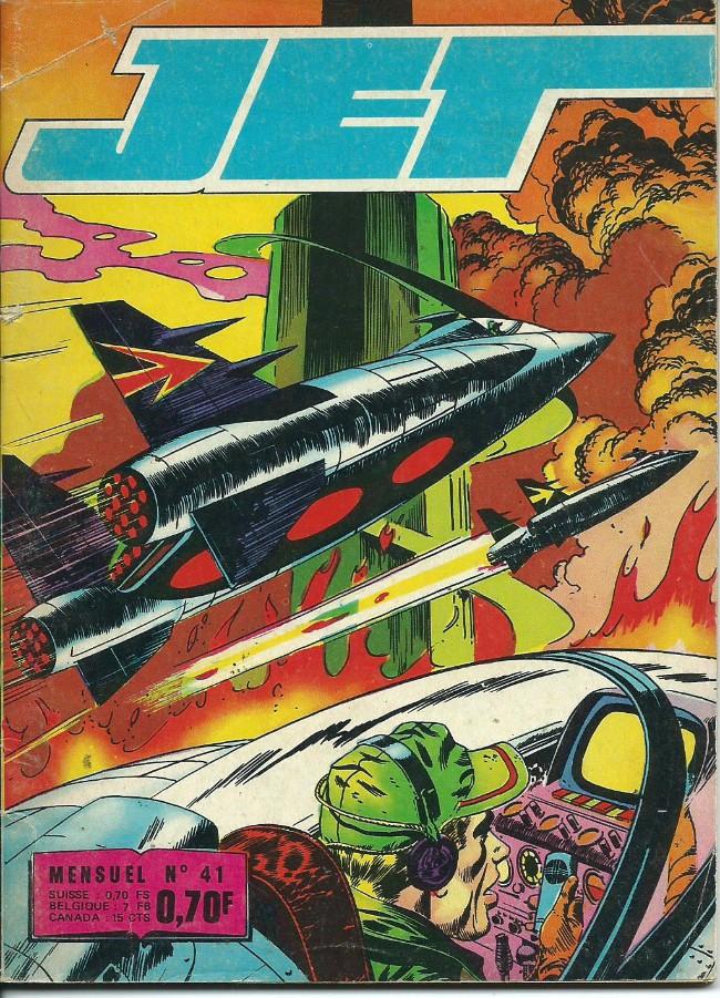 Couverture de Jet Logan (puis Jet) -41- Brave des braves