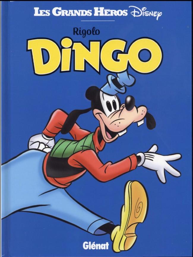 Couverture de Les grands Héros Disney -6- Rigolo Dingo