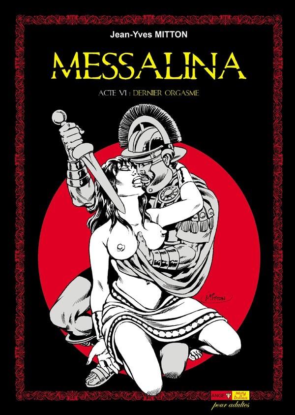 Couverture de Messalina -6- Acte VI : Dernier orgasme