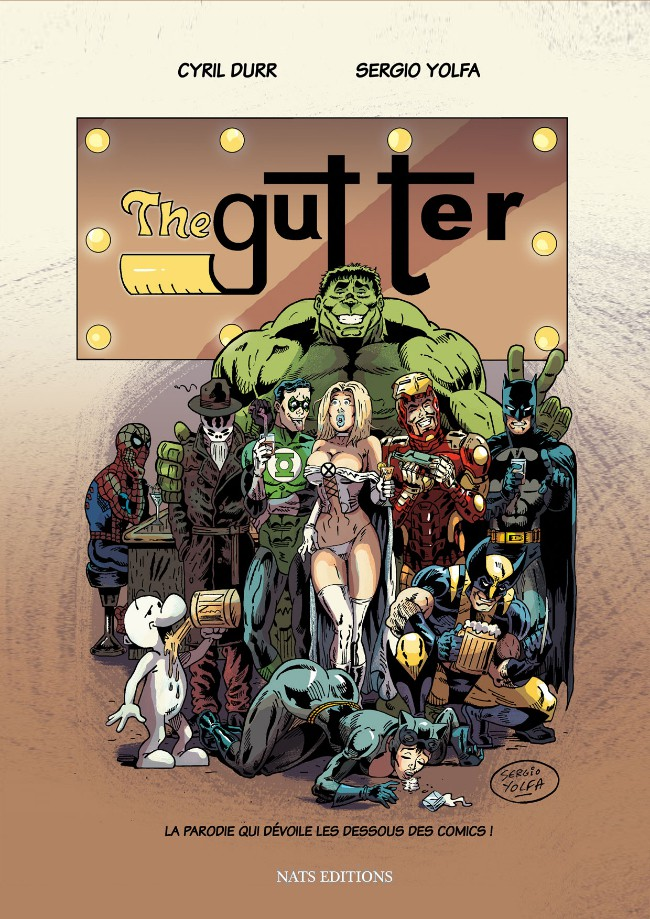 The Gutter One shot PDF