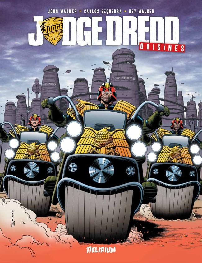 Couverture de Judge Dredd (Delirium) -1- Origines