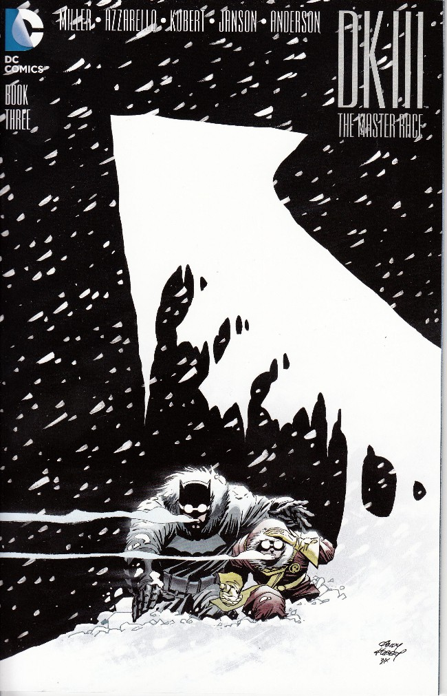 Couverture de Dark Knight III: The Master Race (2016) -3- Book Three