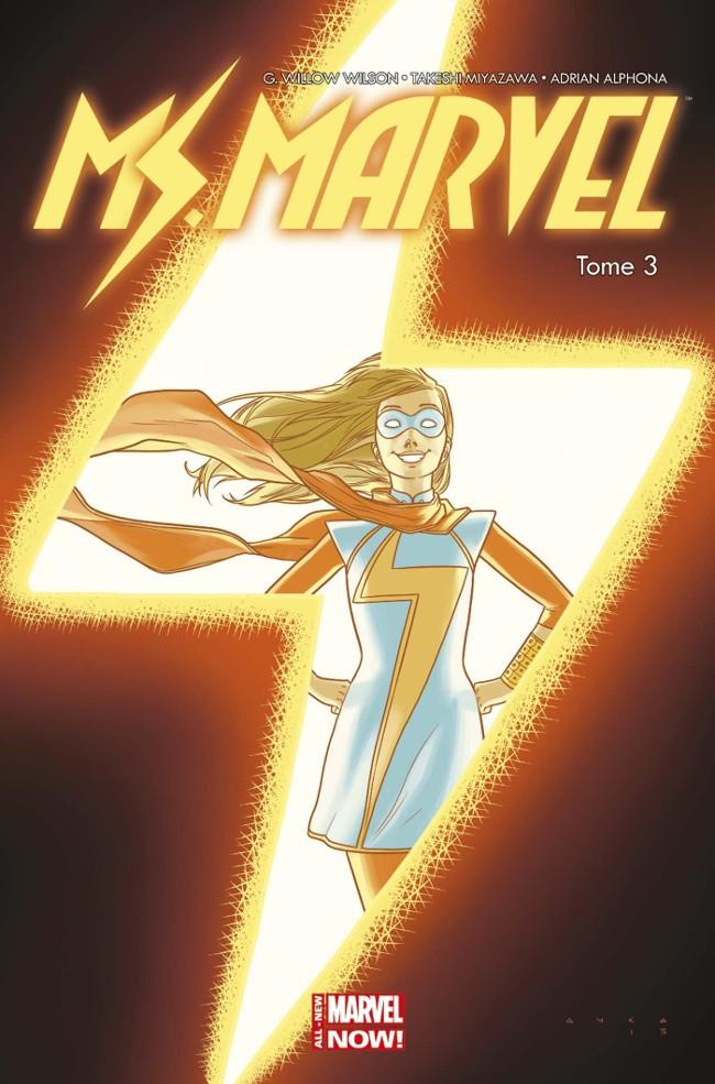 Couverture de Ms. Marvel -3- Coup de Foudre