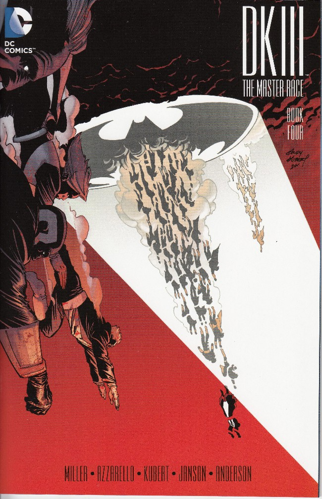 Couverture de Dark Knight III: The Master Race (2016) -4- Book Four