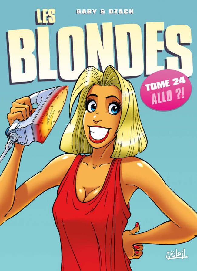 Couverture de Les blondes -24- Allo ?!