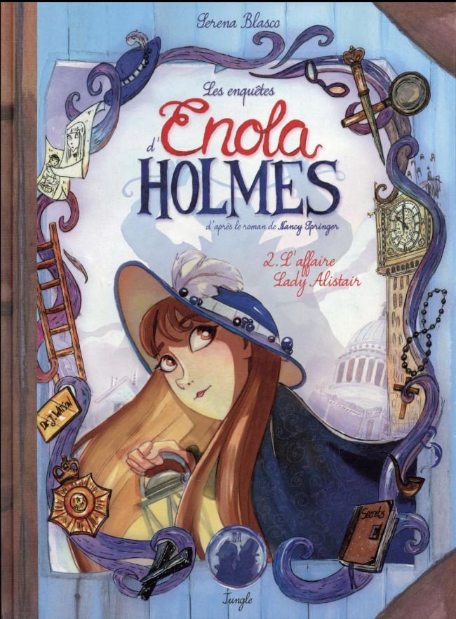 Enola Holmes (2016) - Tome 2