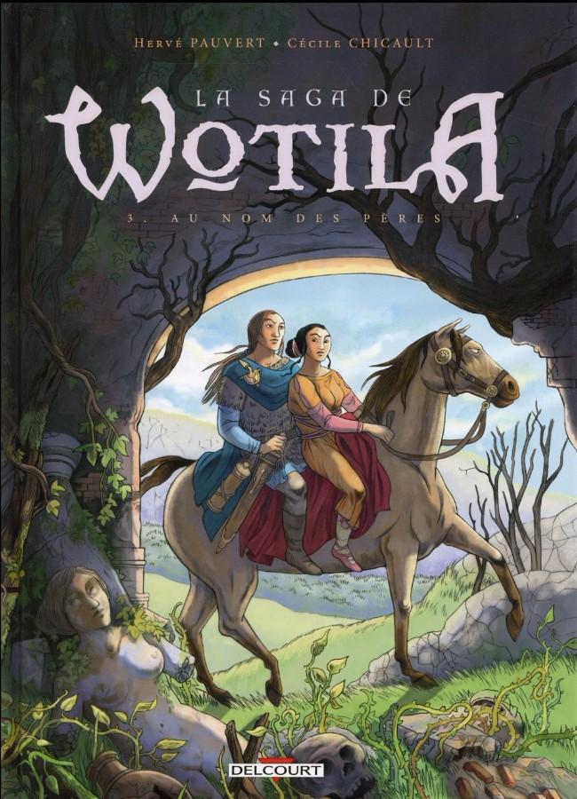 Couverture de La saga de Wotila -3- Au nom des pères