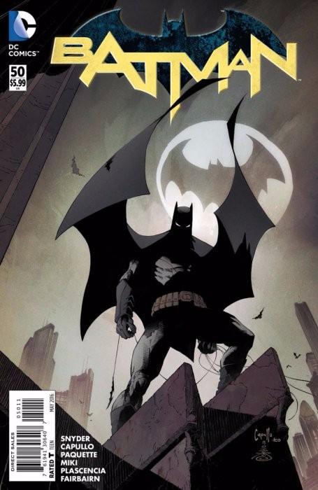 Couverture de Batman (2011) -50- Superheavy, Part Ten