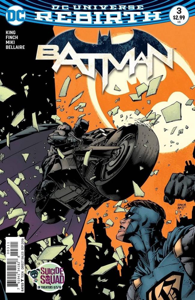 Couverture de Batman (2016) -3- I am Gotham, Part Three
