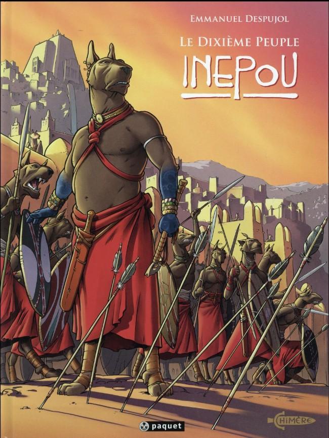 Couverture de Le dixième peuple -3- Inépou