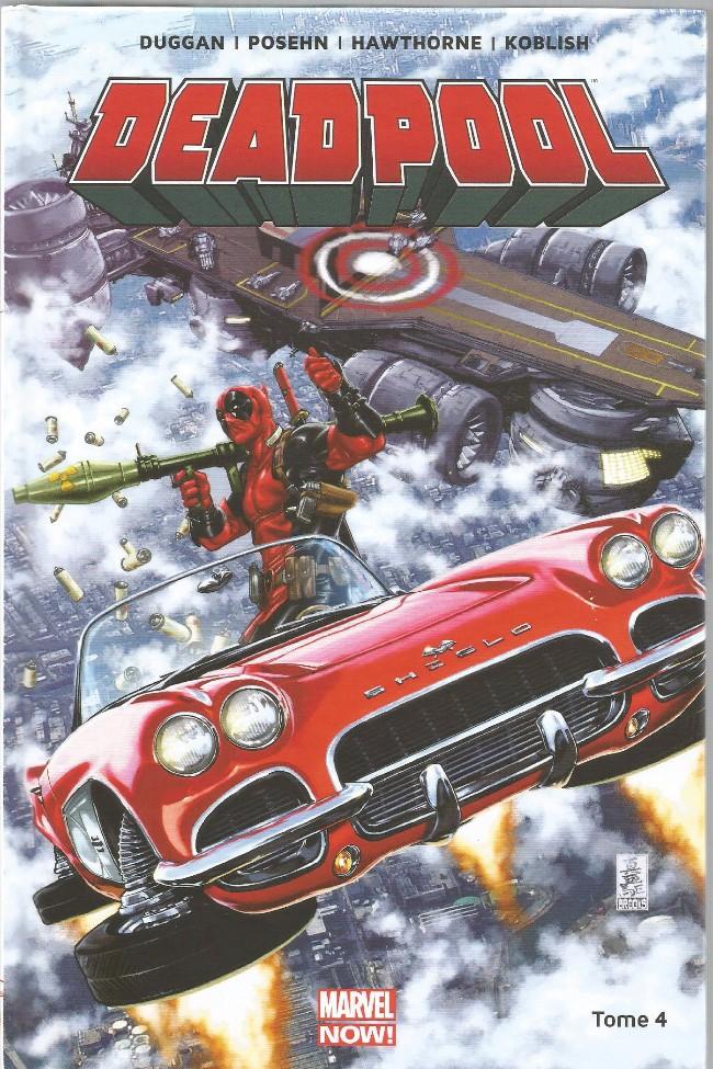 Couverture de Deadpool (Marvel Now!) -4- Deadpool contre le S.H.I.E.L.D.