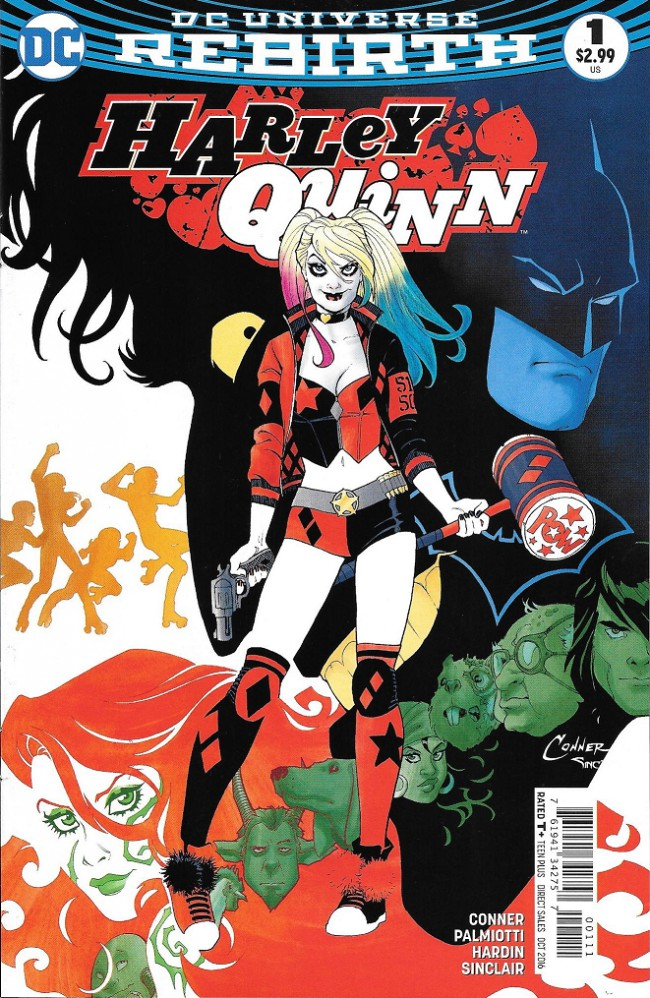 Couverture de Harley Quinn: Rebirth (2016) -1- Die Laughing Part One