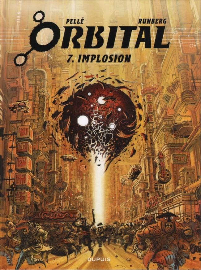 Couverture de Orbital -7- Implosion