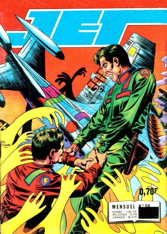 Couverture de Jet Logan (puis Jet) -50- La planète des disparus