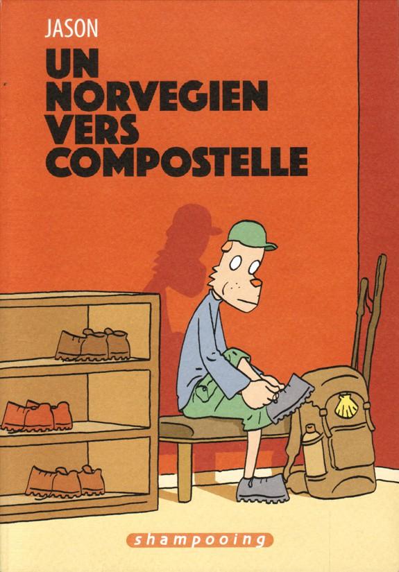 Couverture de Un norvégien vers Compostelle
