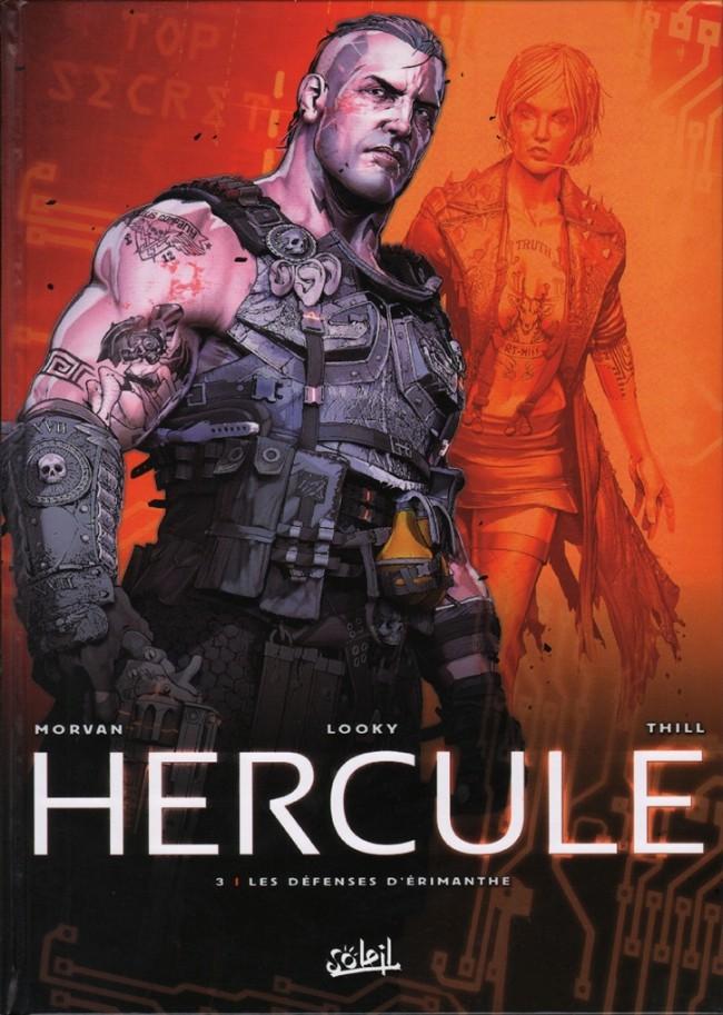 Couverture de Hercule (Morvan/Looky) -3- Les défenses d'Érimanthe