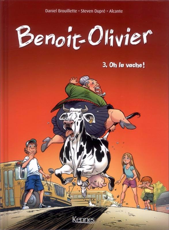Couverture de L'incroyable Histoire de Benoit-Olivier -3- Oh la vache !