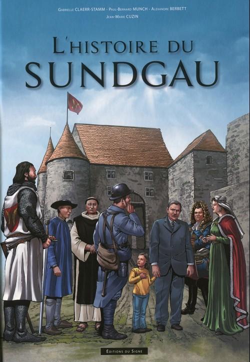 Couverture de L'histoire du Sundgau