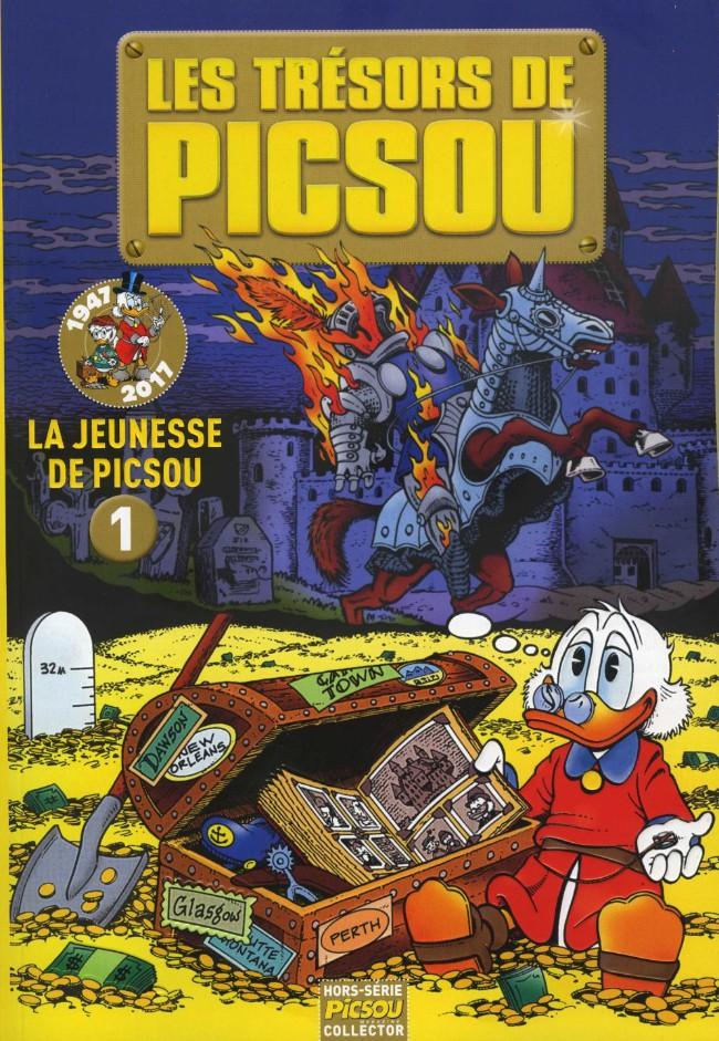 Couverture de Picsou Magazine Hors-Série -37- La Jeunesse de Picsou 1