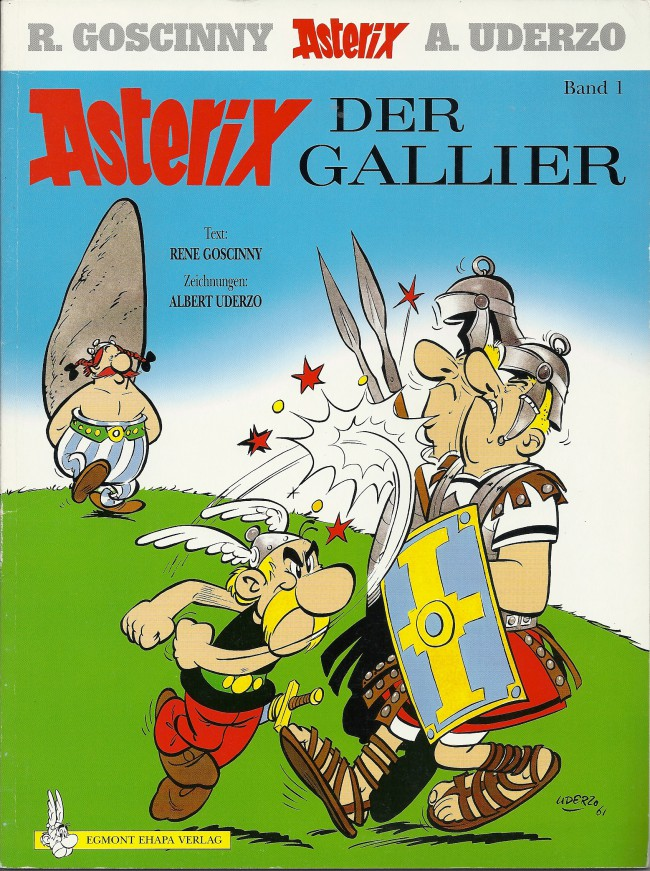 Egmont Ehapa Launcht Toy Story Magazin: Astérix (en Allemand) -1- Asterix Der Gallier