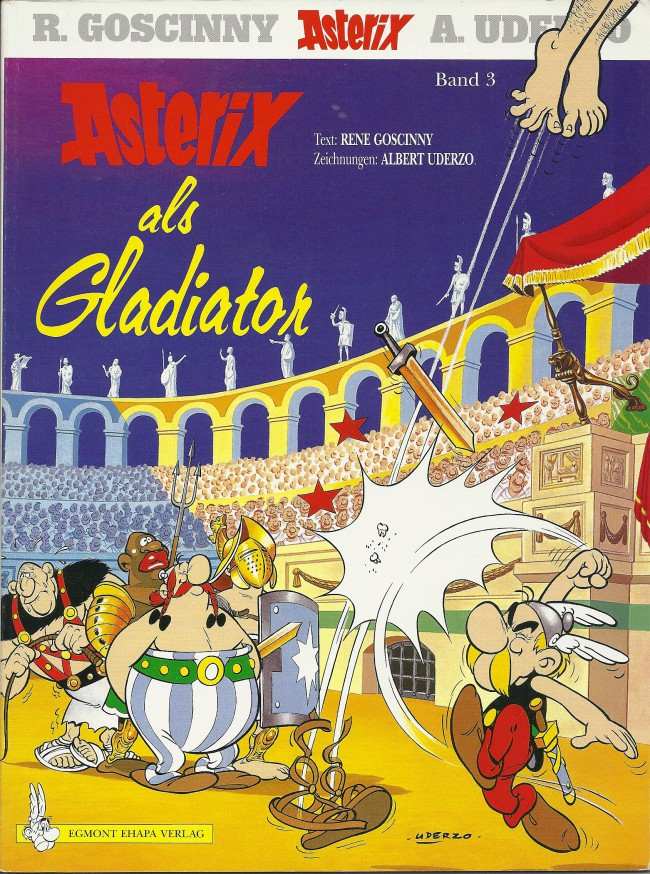 Egmont Ehapa Launcht Toy Story Magazin: Astérix (en Allemand) -4- Asterix Als Gladiator
