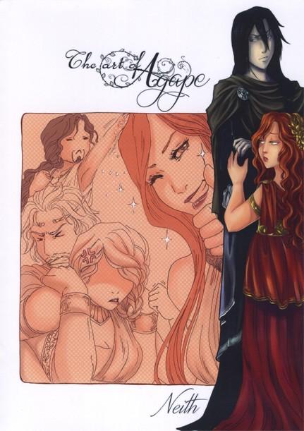 Couverture de Agape (Neith) -HS1- The art of agape