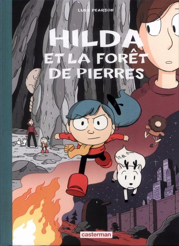 Couverture de Hilda (Luke Pearson) -5- Hilda et la forêt de pierres