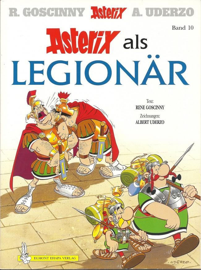 Egmont Ehapa Launcht Toy Story Magazin: Astérix (en Allemand) -10- Asterix Als Legionär