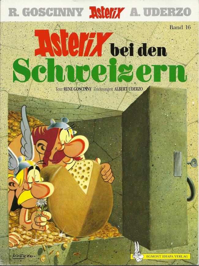 Egmont Ehapa Launcht Toy Story Magazin: Astérix (en Allemand) -16- Astérix Bei Den Schweizern
