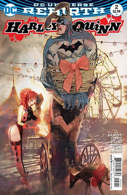 Couverture de Harley Quinn: Rebirth (2016) -2VC- Die Laughing Part Two