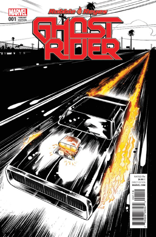 Couverture de Ghost Rider (2017) -1VC- Four on the Floor
