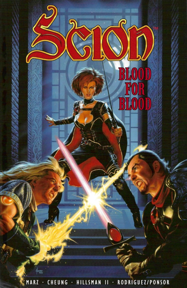 Couverture de Scion (2000) -INT02- Blood for Blood
